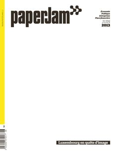 paperJam – Luxembourg en quête d'image. (June 2013)
