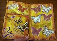 Altered Book - Butterflies
