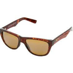 72e0553a2c1 Maui Jim Unisex 'Maui Cat Iii' Tortoise Full-frame Polarized Sunglasses  Maui Jim
