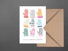 Weihnachten - Weihnachtskarte / Brrright Christmas No. 2 - ein Designerstück von…