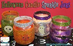 Halloween Crafts for Kids - Monster, Ghost, and Pumpkin Jars