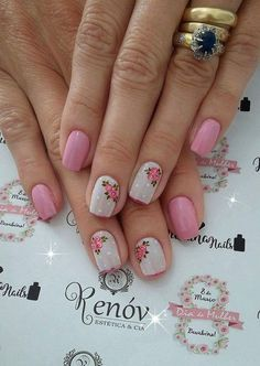 Healthy no-bake cat treats recipes from scratch cookies Cute Pink Nails, Fun Nails, Rose Nails, Best Nail Art Designs, Nail Envy, Recipe From Scratch, Cat Treats, Cool Nail Art, Healthy Baking