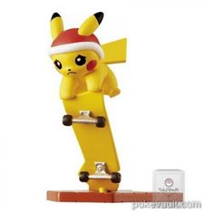 Pokemon Center 2017 Pikachu Parade Series Pikachu Figure (Version #6)
