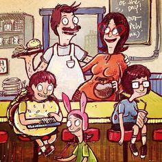 Bobs Burgers fan art