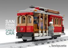 ToyzMag.com » LEGO Ideas : Cable Car de San Francisco