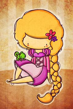 rapunzel by ~agusmp on deviantART
