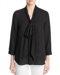 70.20$  Watch here - http://viqlz.justgood.pw/vig/item.php?t=ydi4v050416 - FINITY Tie Neck Blouse 70.20$