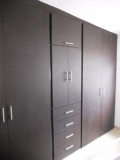 Closets :: Cocinas-closets Bedroom Cupboard Designs, Wardrobe Design Bedroom, Bedroom Cupboards, Closet Bedroom, Home Bedroom, Bedroom Decor, Sliding Wardrobe Doors, Built In Wardrobe, Ideas De Closets
