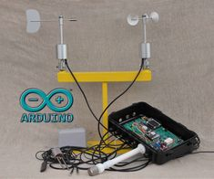 Arduino GPRS Weather Station - Part Upgraded Wind Sensors and Improved Energy Efficiency: 7 Steps (with Pictures) Hobby Electronics, Electronics Projects, Electronics Components, Electronics Gadgets, Raspberry Projects, Survival Gadgets, Diy Tech, Pi Projects, Weekend Projects