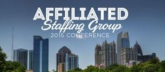 GCBC to Attend Affiliated #Staffing Group Conference Nov. 3-5th #Georgia