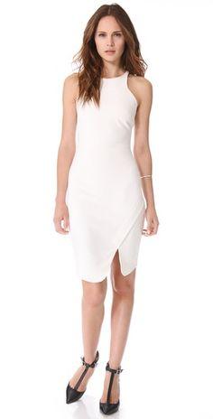 amazing white sheath dress... and on sale!