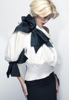 1980's Vintage Christian Dior blouse