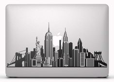 For making logo😍 Nyc Skyline Tattoo, Ny Skyline, Nyc Drawing, New York Drawing, New York Illustration, Building Illustration, Ciudad New York, New York Skyline Silhouette, New York City Buildings