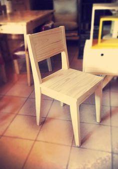 silla pino retro, escandinava, vintage maciza s/pintar