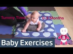 How to do Tummy Time - Baby Playtime Exercises #0-3 Months - Baby Activities, Baby Development - YouTube