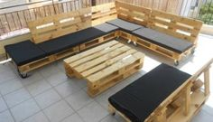 Recycled Pallet Furniture Ideas, DIY Pallet Projects - 99 Pallets - Part 31