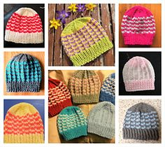 Simple stylish knitting & crochet patterns from a popular independent designer. Baby Hat Patterns, Knitting Patterns Free, Free Knitting, Free Pattern, Crochet Patterns, Baby Hats Knitting, Knitted Hats, Knit Crochet, Crochet Hats