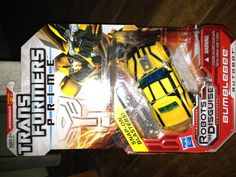 Transformers Prime Robots in Disguise Bumblebee