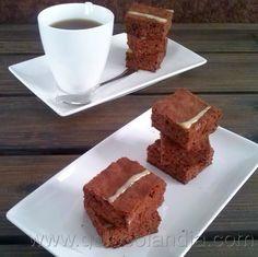 Brownies de chocolate Receta casera paso a paso  http://www.golosolandia.com/2013/09/brownies-receta-casera.html