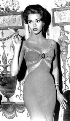 Jane Fonda. Simple beauty is often the best.