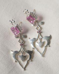 Silver Jewellery, Silver Earrings, Jewelry, Elegant, Rose, Instagram, Silver Drop Earrings, Jewellery Making, Classy