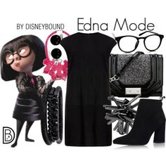 Disney Character Cosplay 23 Outfits To Help You Dress As Your Favorite Disney Character - vintagetopia - Feeling special and comforted, it's incredible how well children will travel if they're permitted to wear their favourite Disney costume Disney Character Outfits, Disney Themed Outfits, Character Inspired Outfits, Disney Bound Outfits, Disney Characters, Edna Mode, Robes Disney, Disney Dresses, Disney Clothes