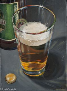 Beer O'Clock by Angela Bandurka