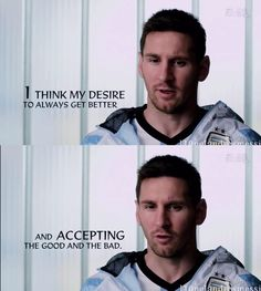 Quote by Lionel Messi