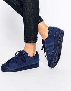 release date: 01b7a 58ef6 adidas Originals – Superstar RT – Sneakers in dunklem Indigoblau  Halbschuhe, Damenschuhe Ballerinas, Heiße