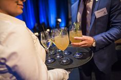 Drinks at the entrance - Corporate Event in Vienna by Fridi Nefe Summer Celebration, Corporate Events, Vienna, White Wine, Entrance, Alcoholic Drinks, Coffee Maker, Glass, Inspiration