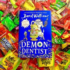 Today is National Dentist Day and to celebrate, we're giving away copies of the newest book from David Williams, DEMON DENTIST! Click the link in our bio to enter the giveaway on our FB page — you and your child are sure to love this Roald Dahl-esque story filled with made up words and Tooth Fairy presents gone wrong!