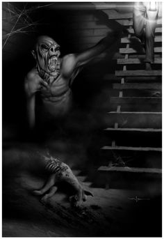 This is why you ran up your basement steps after the lights went out (From the dark by Valzonline.deviantart.com)