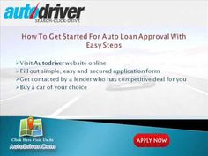 Know how to buy a car loan with no credit history?
