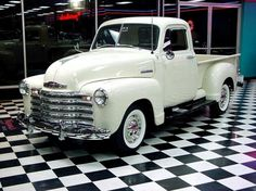 Classic Cars and Trucks for Sale - Classics on Autotrader Vintage Pickup Trucks, Antique Trucks, Classic Chevy Trucks, Antique Cars, Classic Cars, Classic White, Vintage Cars, Chevy Classic, Chevy 3100