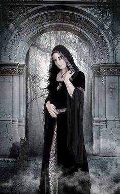 Dark priestress by Azylis