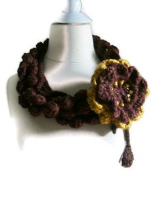 Fashion cozy scarfby Arzu by PIPPADUSHES on Etsy, $25.00