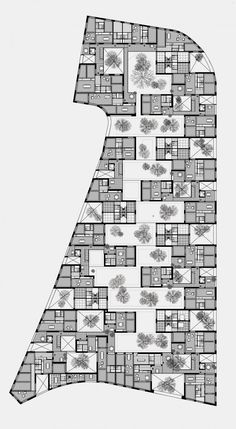 Practice for architecture and urbanism – Zurich Switzerland Croquis Architecture, Grid Architecture, Architecture Concept Diagram, Hotel Floor Plan, Architectural Section, Architectural Styles, Architectural Drawings, Zurich, Picture Design