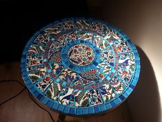 Mosaic table weekend diy project
