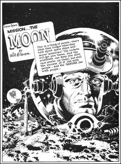The Outer Space Spirit 1952 by Will Eisner & Wally Wood