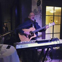 Impromptu performance at the Mission Inn for Dale Fukuda's birthday wine tasting