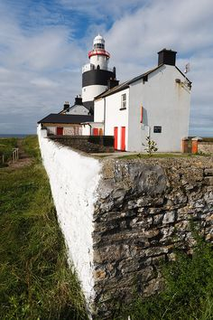 Ireland, Wexford, Hook Peninsula, Hook Head, Lighthouse  Lighthouse