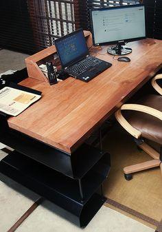 A real man's table by Mike van Heerden, via Behance