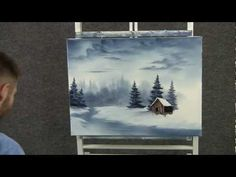 ▶ Paint with Kevin Hill - Cold Snowy River - YouTube
