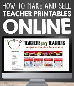 So you want to make and sell teacher printables online? Here's a great article to get started.