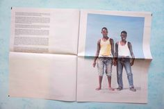 On the Lido photography newspaper by Roopa Gogineni. Printed by Newspaper Club.