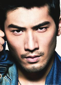 Godfrey Gao, going to be Magnus Bane in the Mortal Instruments movie. Looks EXACTLY how I pictured him in the book, so excited, don't let me down! :)