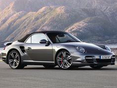 Silver Porsche 911 Turbo