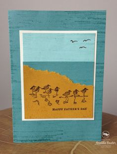 Wetlands Amanda Fowler Stampin' Up! UK
