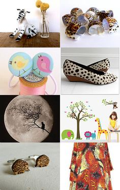 The animals, the animals by Kitty on Etsy--Pinned with TreasuryPin.com