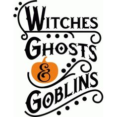 Witches, Ghosts, & Goblins Halloween Silhouette from The Silhouette Design Store - New Designs! Halloween Vinyl, Halloween Pallet Signs, Halloween Quotes, Halloween Cards, Happy Halloween, Halloween Ideas, Halloween Prop, Halloween Witches, Halloween Decorations